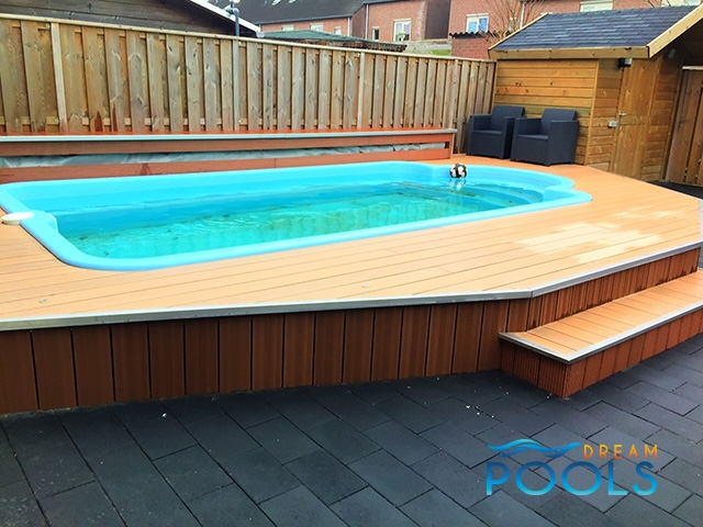 The best quality fiberglass pools for Fiberglass pool installation