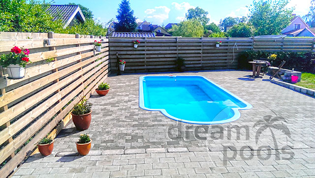 Dreampools polyester pool accessories for Inground pool enclosure prices