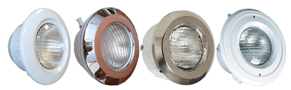 polyester pool lamps halogen