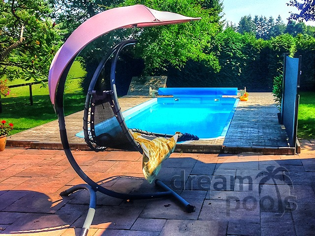 Dreampools the best quality fiberglass swimming pool for Inground swimming pools sale