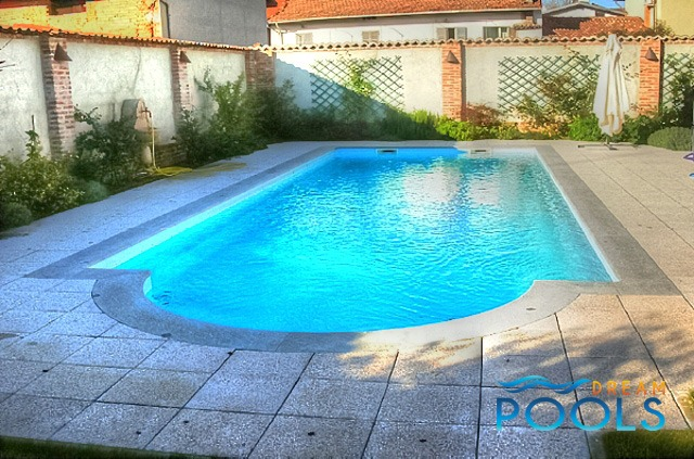 Dreampools the best quality fiberglass inground pools Fiberglass swimming pool installation