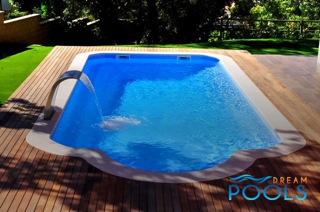 Dreampools the best quality fiberglass inground pools for Swimming pool installation cost
