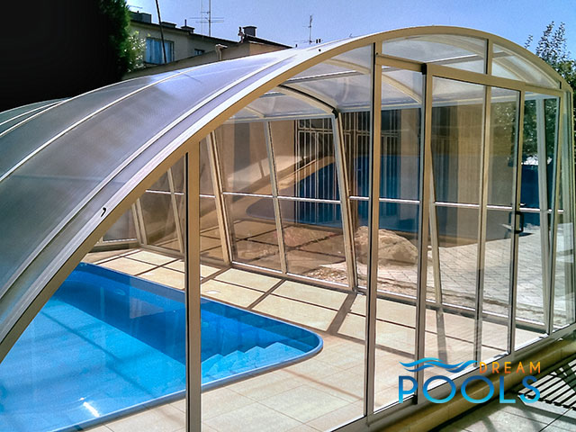 Dreampools the best quality pool enclosures for Inground pool enclosure prices