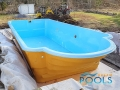 polyester pools installation 47