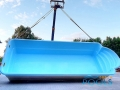 polyester pool delivery 75