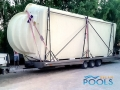 polyester pool delivery 76