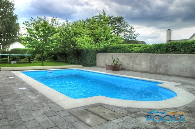 Dreampools the best quality fiberglass inground pools for Fiberglass pool installation